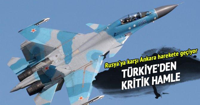 Türkiye'den kritik hamle