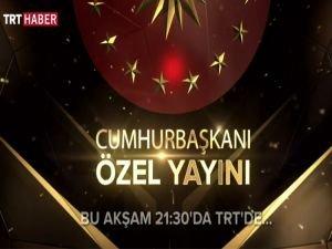 Cumhurbaşkanı Erdoğan, TRT'de gazetecilerin sorularını yanıtlayacak
