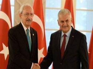 Başbakan Yldırım'dan, Kılıçdaroğlu'na Yenikapı telefonu