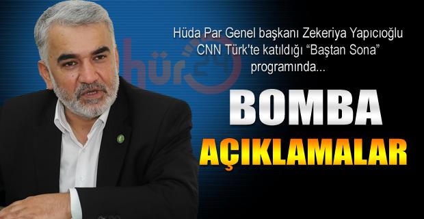Yapıcıoğlu'ndan bomba açıklamalar