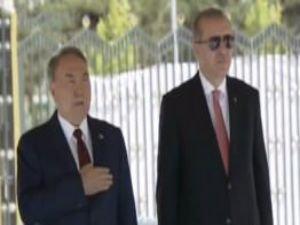Kazakistan Cumhurbaşkanı Nazarbayev Külliye'de