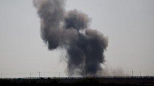 Karargaha bomba yüklü araçla saldırı
