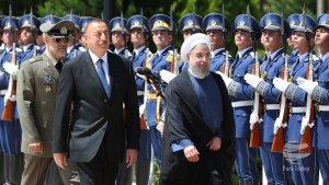 İran Cumhurbaşkanı Hasan Ruhani, Bakü'de