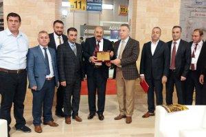 Mardin'de gerçekleştirilen EMİTT fuarında ödül