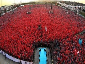 Ankara'da dev demokrasi mitingi