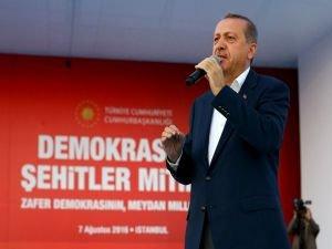 Cumhurbaşkanı Erdoğan dan flaş ABD çıkışı