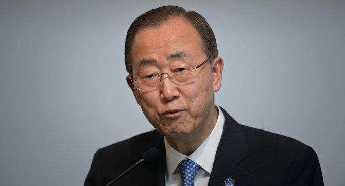 Ban Ki-mun,New York Times'tan Netanyahu'ya cevap