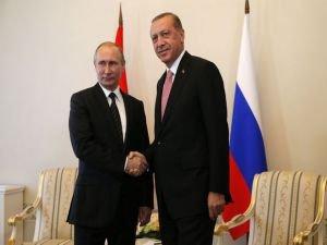 Erdoğan ve Putin ortak basın toplantısı düzenliyor