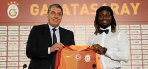 Cavanda resmen Galatasaray'da.