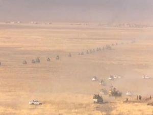 Barzani komutasında IŞID'e operasyon başlatıldı