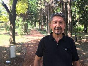 Dağcı ve Doğa korumacı Rıdvan Şükür'ün Caretta Caretta'lar sevgisi