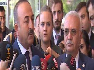 Bakan Çavuşoğlu'ndan 'PYD' açıklaması