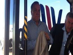 Dick Advocaat, İstanbul'a geldi