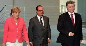 Hollande: Ukrayna krizine çözüm bulmak için yeni bir zirveye hazırız