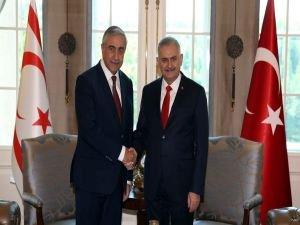 Başbakan Yıldırım, KKTC Cumhurbaşkanı Akıncı ile görüştü