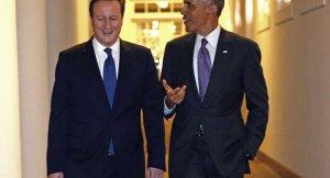Obama, David Cameron ile telefonda görüşere