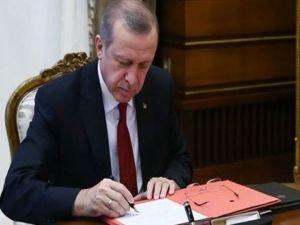 Cumhurbaşkanı Erdoğan'dan 4 önemli kanuna onay