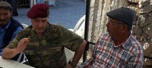 Aksakallı Paşa Ömer Halisdemir'in ailesini ziyaret etti