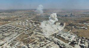 RT ekibi, Halep'teki yıkımı görüntüledi