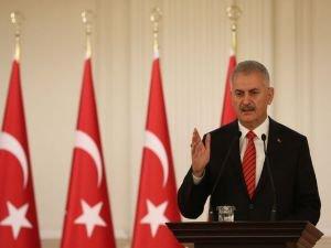 Başbakan Yıldırım Gaziantep'teki terör saldırısını lanetledi