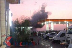 Şanlıurfa'da zırhlı aracın geçişi sırasında patlama