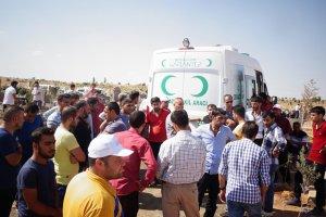 HDP'lilerden cenazede provokasyon girişimi