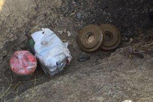 Şırnak'ta yola döşenen bomba imha edildi