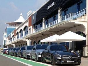 Mercedes-AMG Araçları ile Basın Test Sürüş Günü