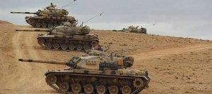 Sınırda tank ve ağır silahlar konuşlandırıldı