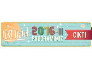 FEST Program 2016-III Çıktı