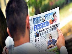 O ülke Zaman Gazetesini kapattı
