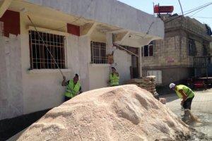 Gaziantep'te patlamanın izleri silinmeye çalışılıyor