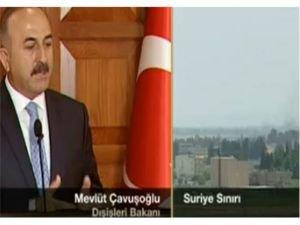 Bakan Çavuşoğlu, Cerablus operasyonu ile ilgili soruları yanıtladı