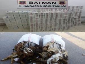 12 bin paket kaçak sigara yakalandı!