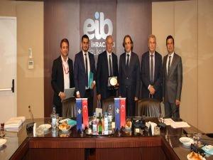 EİB,  İzmir'e gelen resmi heyetleri ağırladı