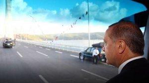 Köprü'den ilk geçişi Erdoğan yaptı