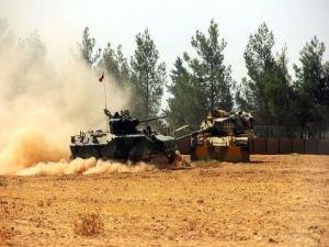 Türk jetleri, Cerablus'un güneyinde YPG'yi vuruyor