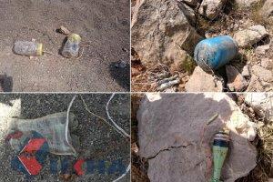 Diyarbakır'da Karayoluna yerleştirilmiş 700 kilo patlayıcı bulundu