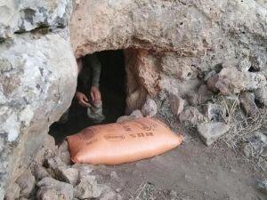 Ömerli'de 7 ton patlayıcı ele geçirildi