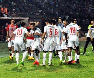 Trabzonspor'a Gaziantepspor şoku.