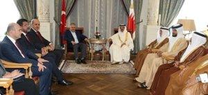 Başbakan Yıldırım, Bahreyn Kralı ile bir araya geldi