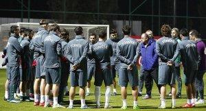 Türkiye, Rusya maçı için hazırlıklara başladı