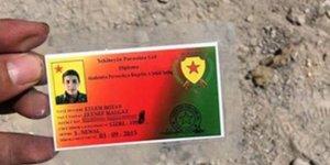 Cerablus'ta YPG'liler üzerinden çıkan kimlikler dikkat çekti