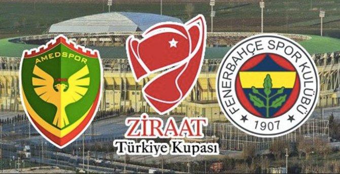 Amedspor ve Fenerbahçe maçı kararı