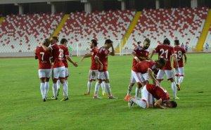Sivasspor'dan mersinspor'a gol şov