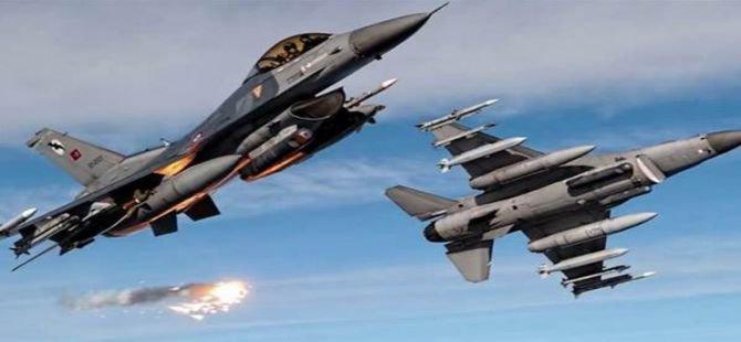 TSK'dan Kuzey Irak'a hava harekatı: 3 hedef vuruldu