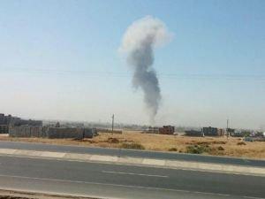 Nusaybin'de kontrollü patlama!