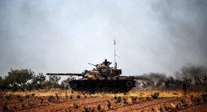 TSK, YPG mevzilerini vurmaya devam ediyor