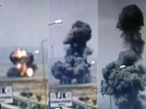 Diyarbakır patlamasının kamera görüntüleri