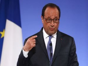 Fransa Cumhurbaşkanı Hollande'den Cerablus açıklaması